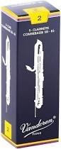 Vandoren Contra-bass Clarinet Reeds, 2 Strength, 5-Pack