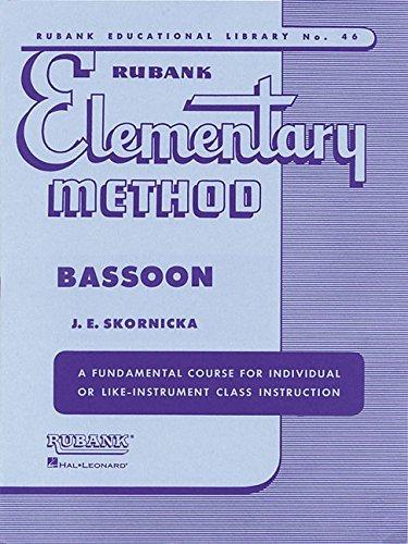 Rubank Elementary Method, Bassoon