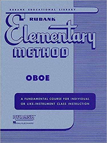 Rubank Elementary Method, Oboe