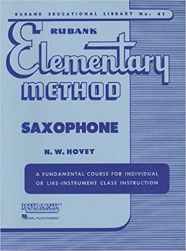 Rubank Elementary Method, Saxophone
