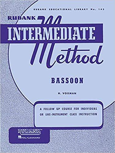 Rubank Intermediate Method, Bassoon