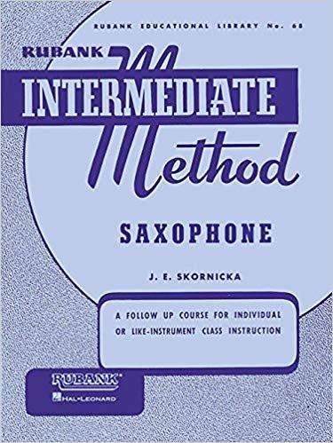 Rubank Intermediate Method, Saxophone