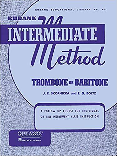Rubank Intermediate Method, Trombone/Baritone
