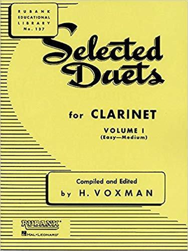 SELECT DUETS CLAR VOL 1