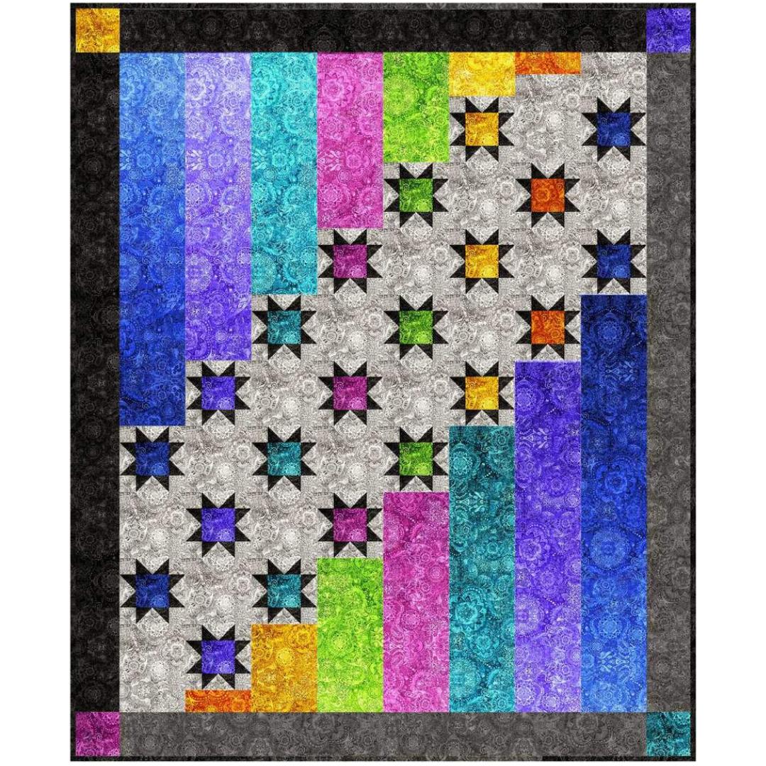 Aurora Nights Quilt Kit - Includes Pattern