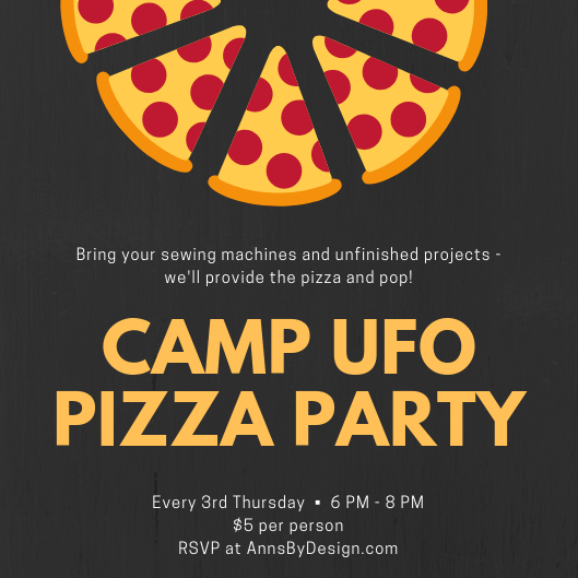 Camp UFO Pizza Party | Ann's By Design