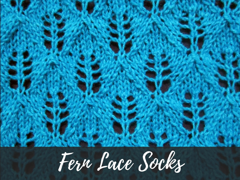 Fern Lace Socks