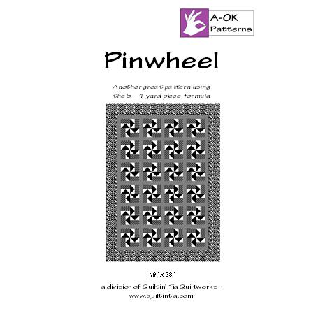 Pinwheel 5 Yard Quilt Pattern