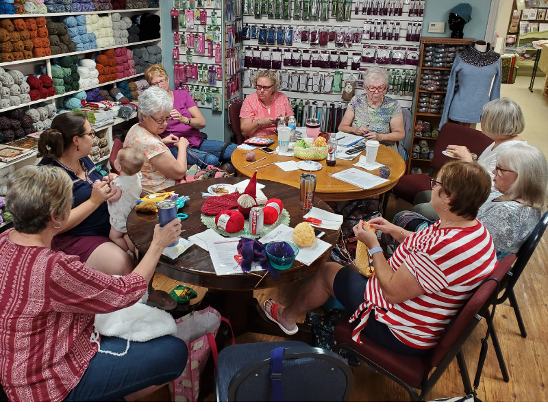 Social Knitting | Ann's By Design