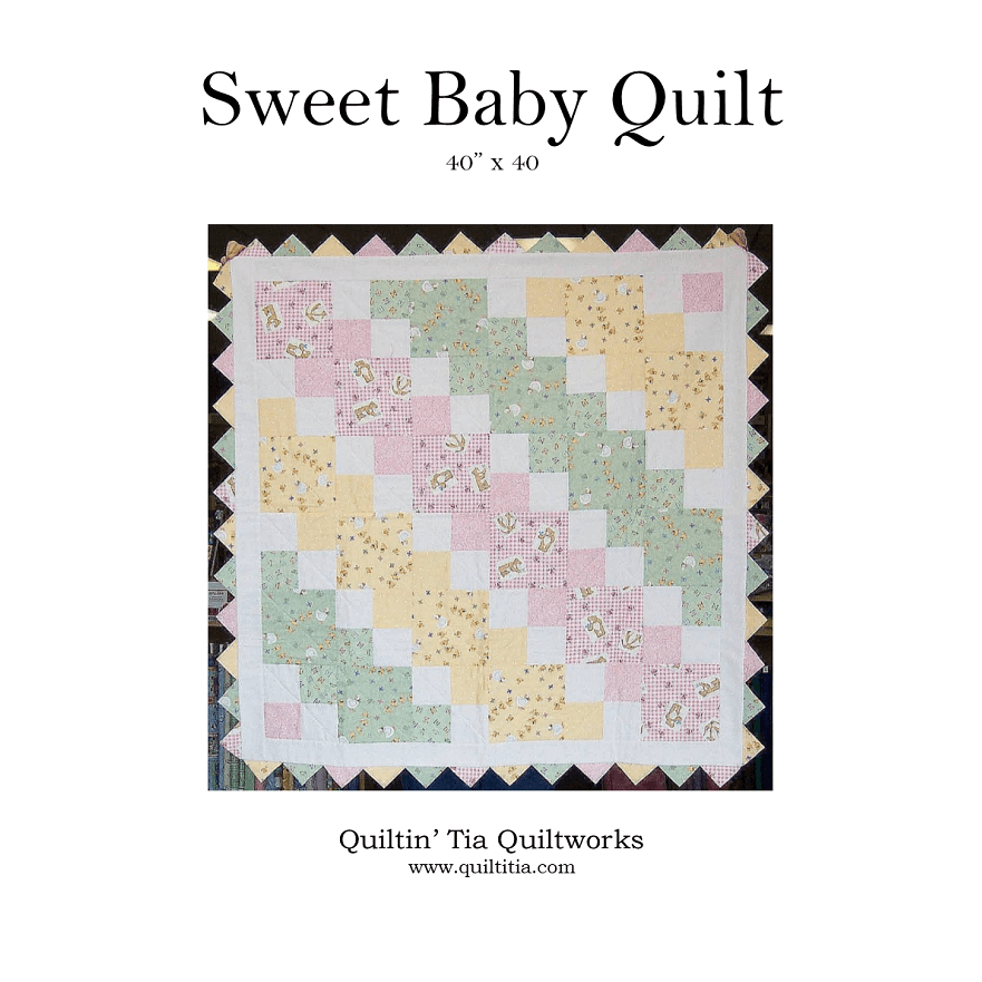 Sweet Baby Quilt Pattern