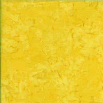 Batik Cotton Blender Caribbean Calypso Lemon Fabric Yardage 6050B