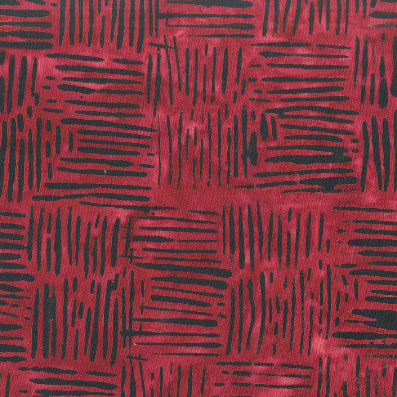 Anthology Fabrics  Batik Weave Red  822Q-5