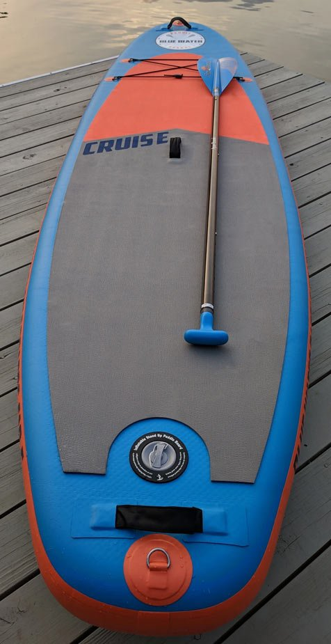 lake gaston outfitters rental paddleboard blue water paddleboard