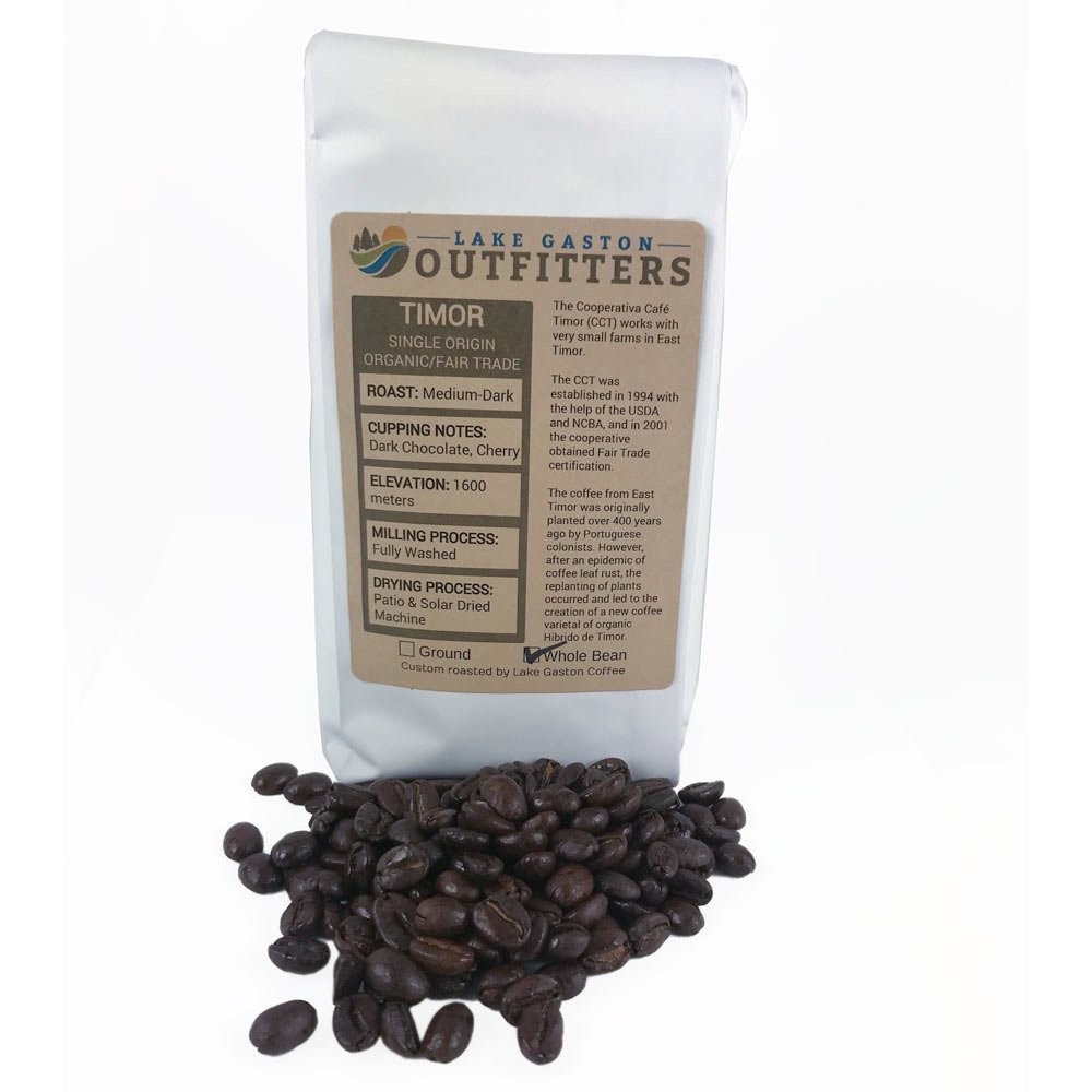 LGO - Coffee from East Timor Medium Dark Roast
