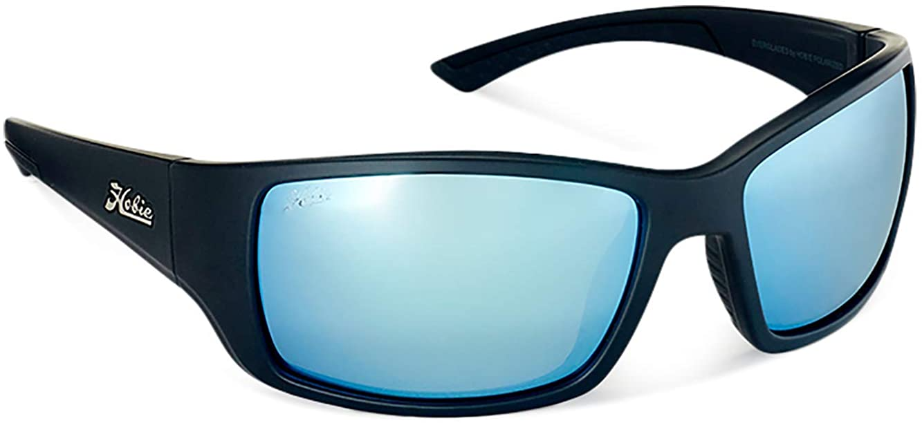 Hobie -  Everglade, Men's Polarized Wrap sport Sunglasses, Large Fit, Full-Coverage