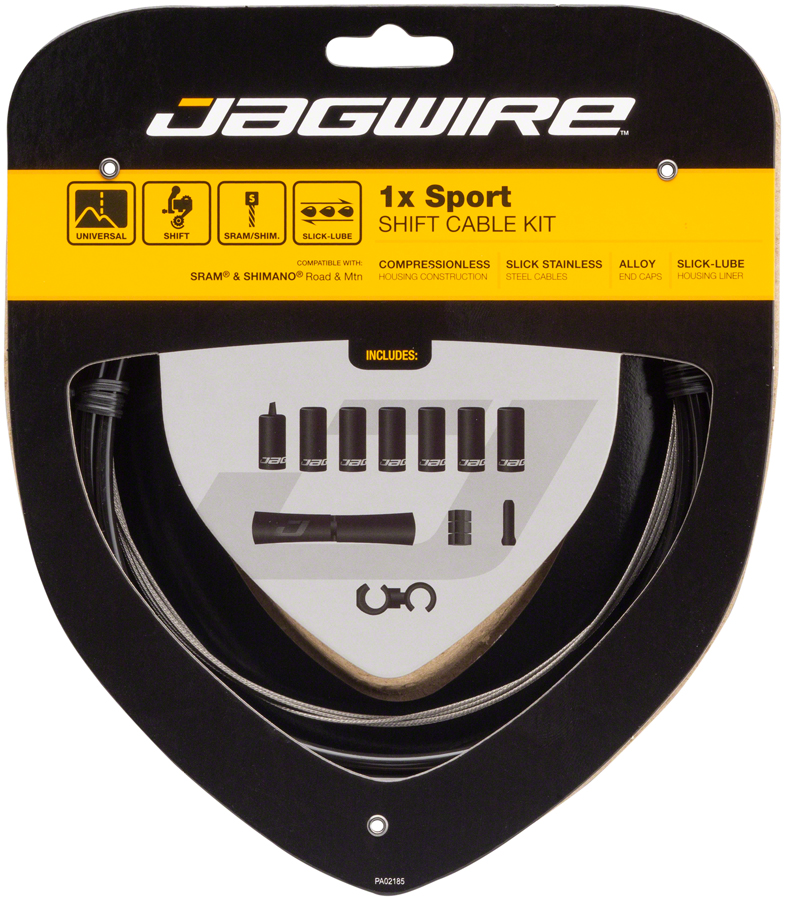 Jagwire - 2750mm Sport Stainless Brake Cable Mountain/Road/Tandem - copy