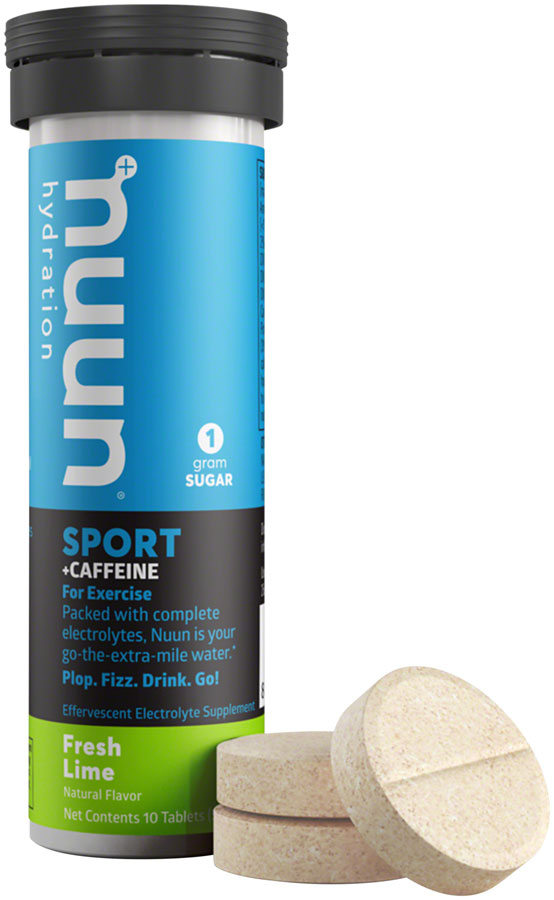 Nuun - Sport & Caffeine Fresh Lime