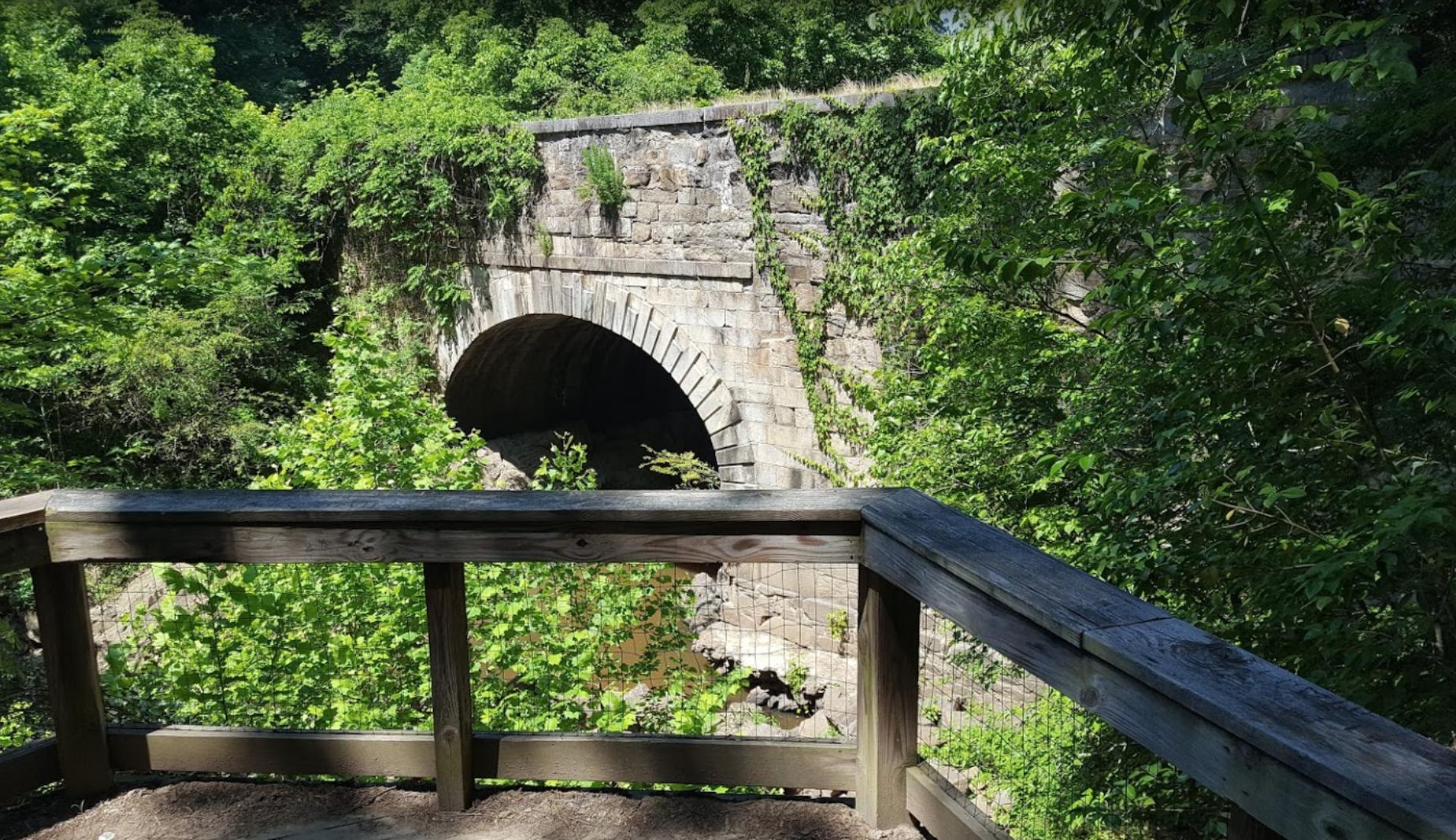 Roanoke Canal Trail Aqueduct