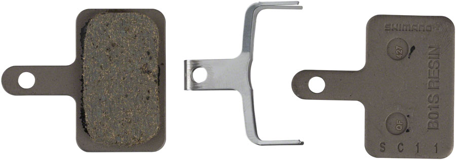 Shimano -  B01S Resin Disc Brake Pad and Spring
