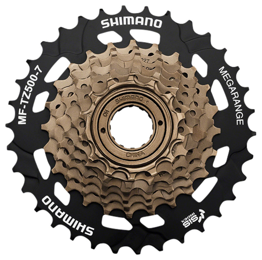 Shimano - TZ500 7 Speed 14-34t Freewheel