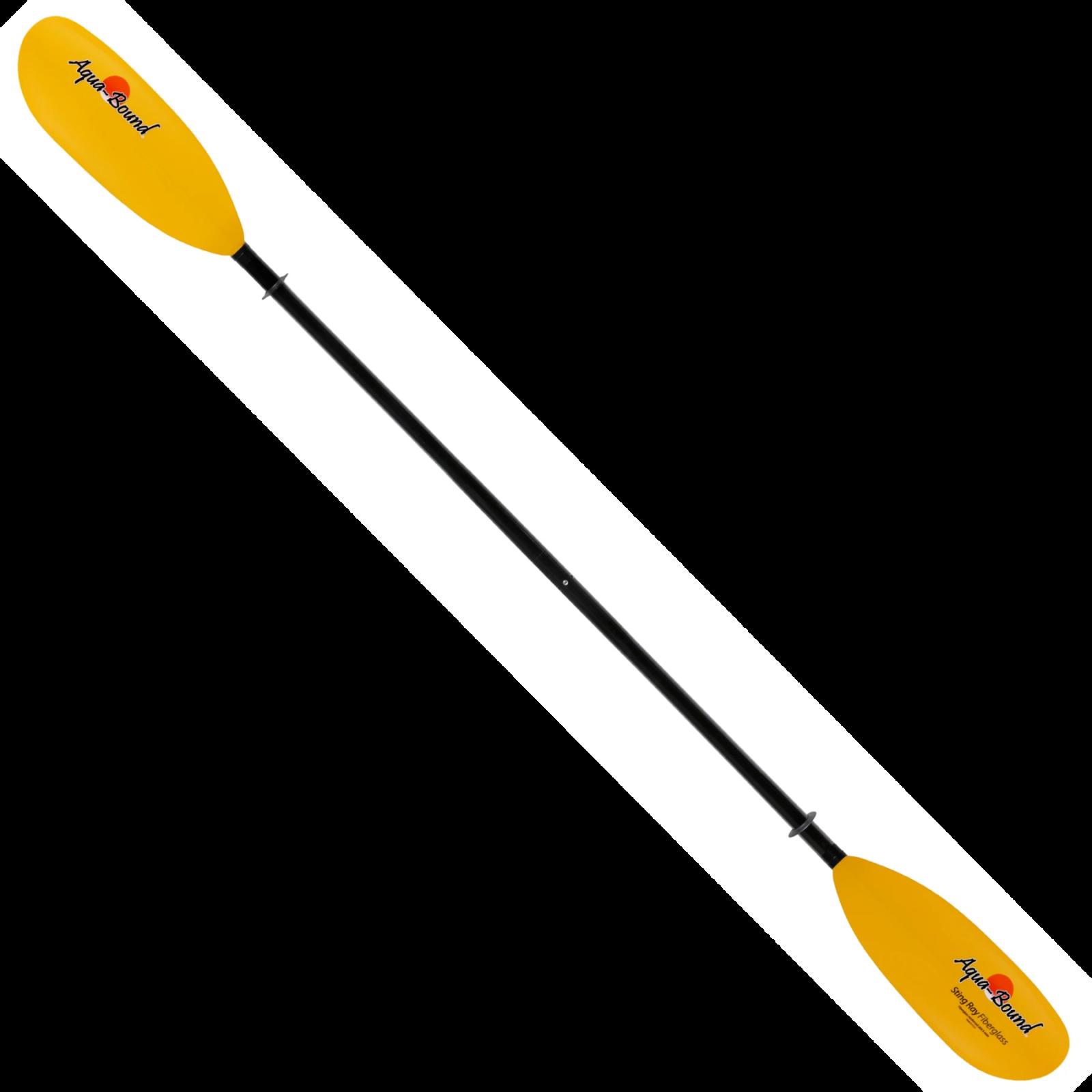 AQUA BOUND Sting Ray 2-Piece Fiberglass Shaft Kayak Paddle