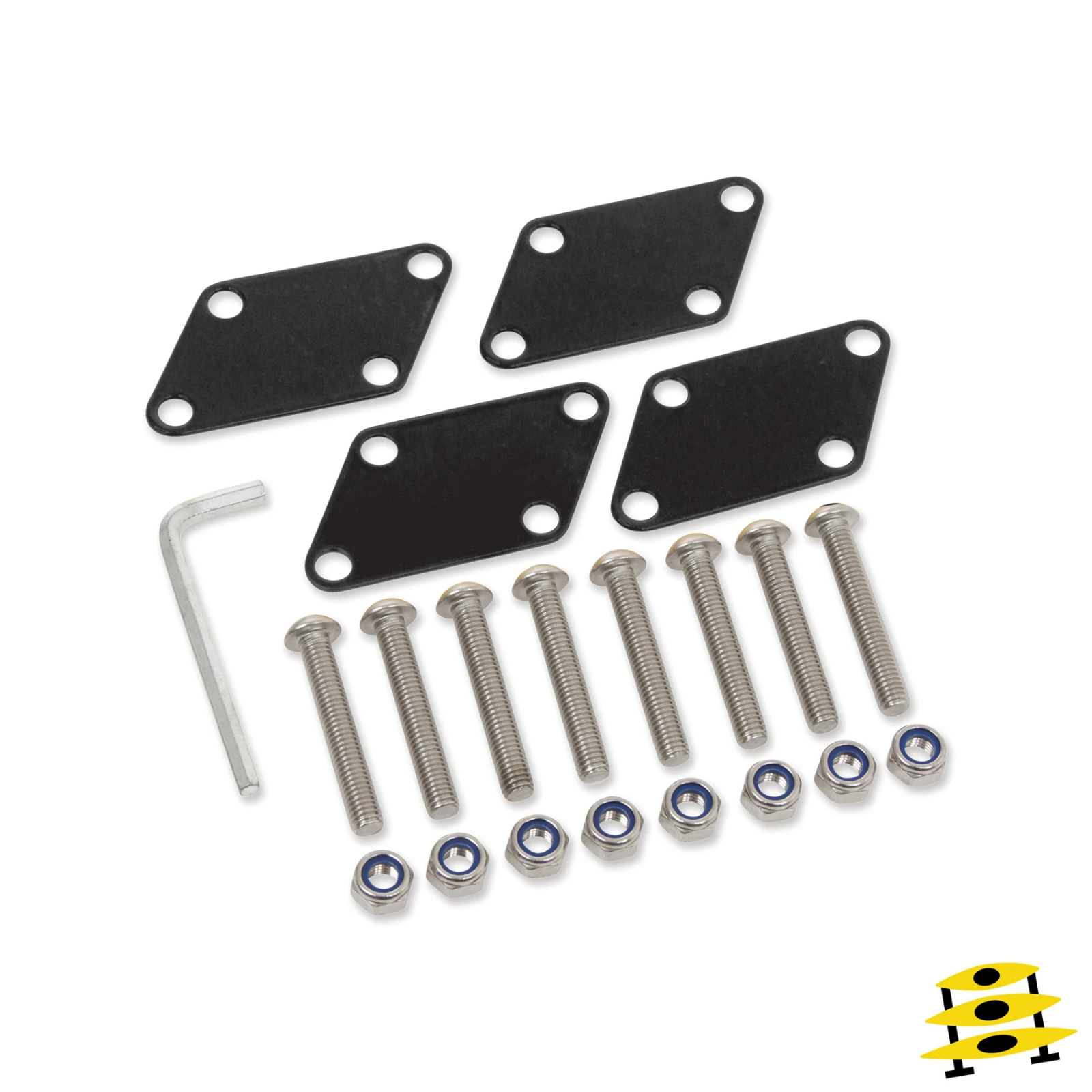 Suspenz - SUP Rack Expansion Plates Marine Grade/Blk