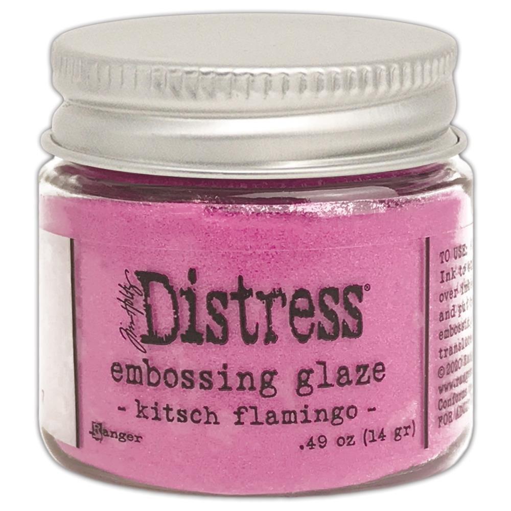 Tim Holtz Distress Embossing Glaze-Kitsch Flamingo