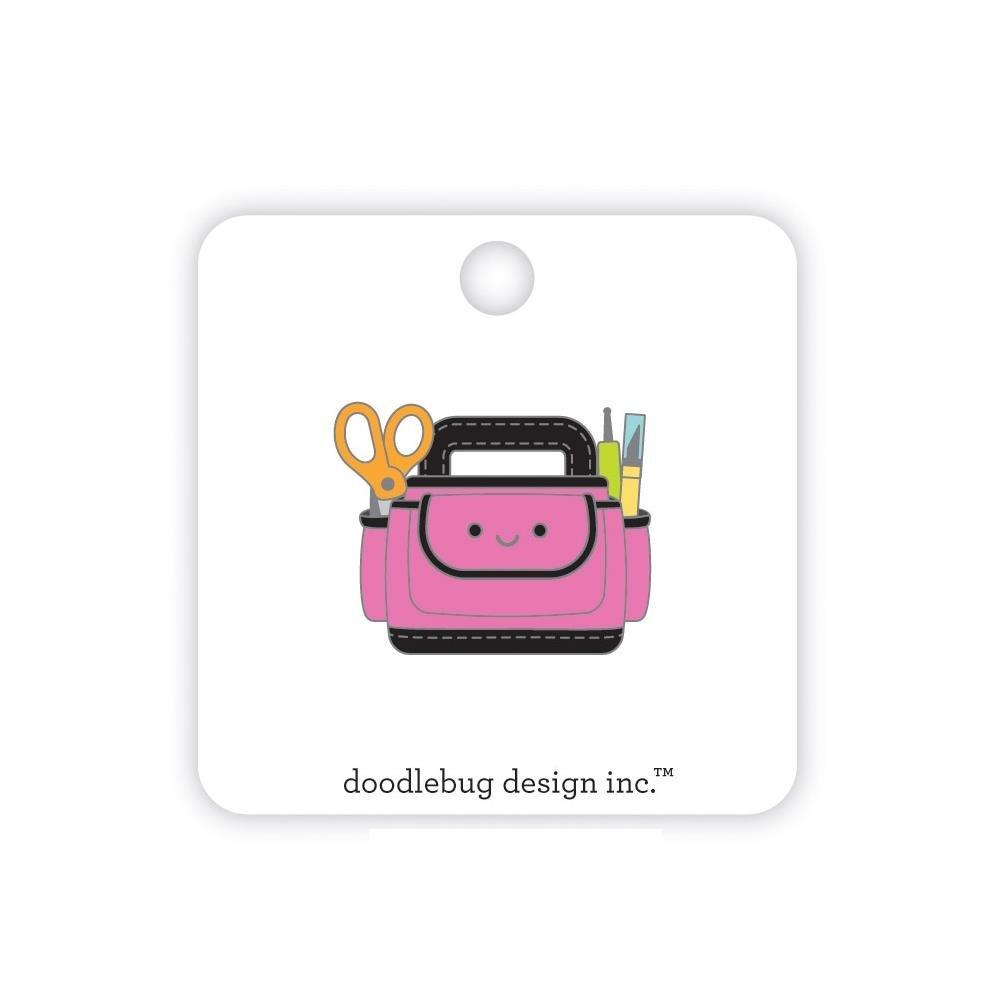 Doodlebug Collectible Enamel Pin-Cute Caddy