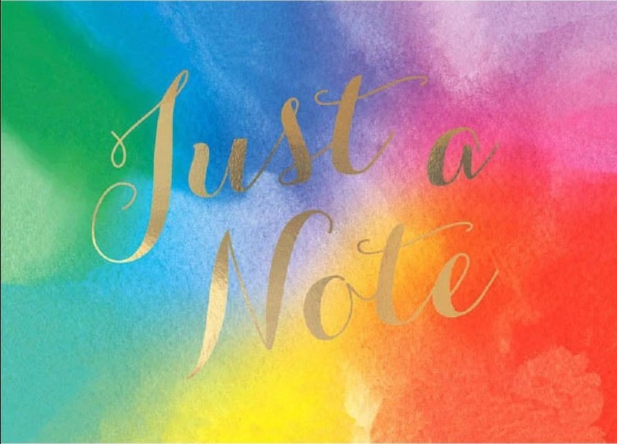 Notecards - Just a Note - 20 pack