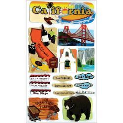 JOLEES DESTINATION CALIFORNIA STICKERS