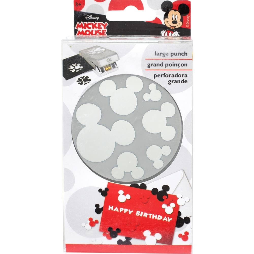 EK Success Disney Confetti Punch-Mickey Ears