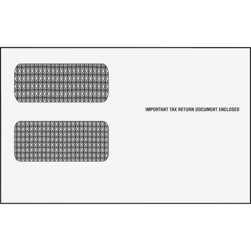 ENVELOPE DBL WINDOW FOR 1099s