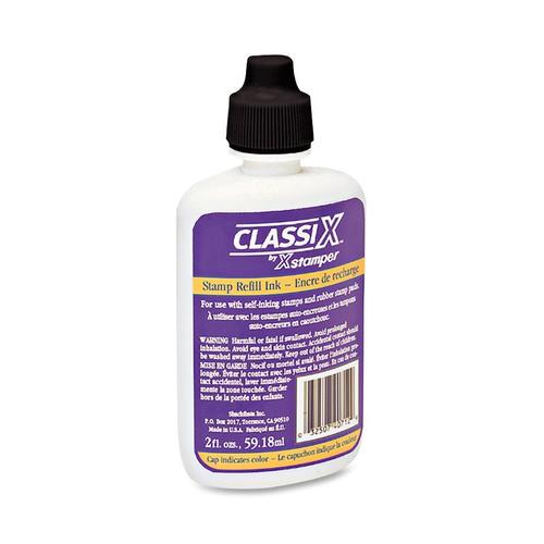 INK REFILL 2OZ. FOR STAMPS - BLACK