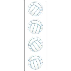 MRS. GROSSMAN'S VOLLEYBALL STICKERS
