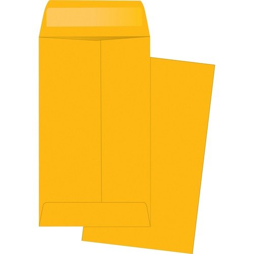 Business Source Small Coin Kraft Envelopes - 50pc 2.5x4.25#3