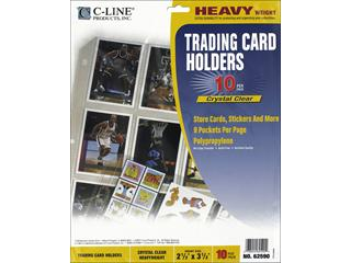 C-Line Heavyweight Trading Card Holders - 10pc