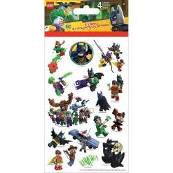 BATMAN    -LEGO STICKERS 4SHEET