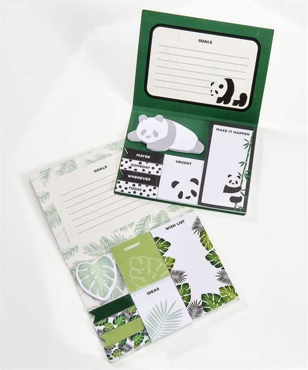 AVENUE 9 TROPICAL RETREAT, PAPER STICKY NOTE SET