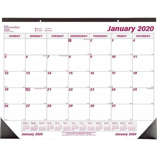 DESK PAD / CALENDAR, DESK, CATS, 22X17 - 2020