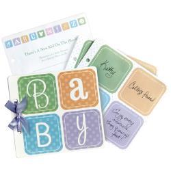 BABY BLOCK-GUEST BOOK 6-1/2X6