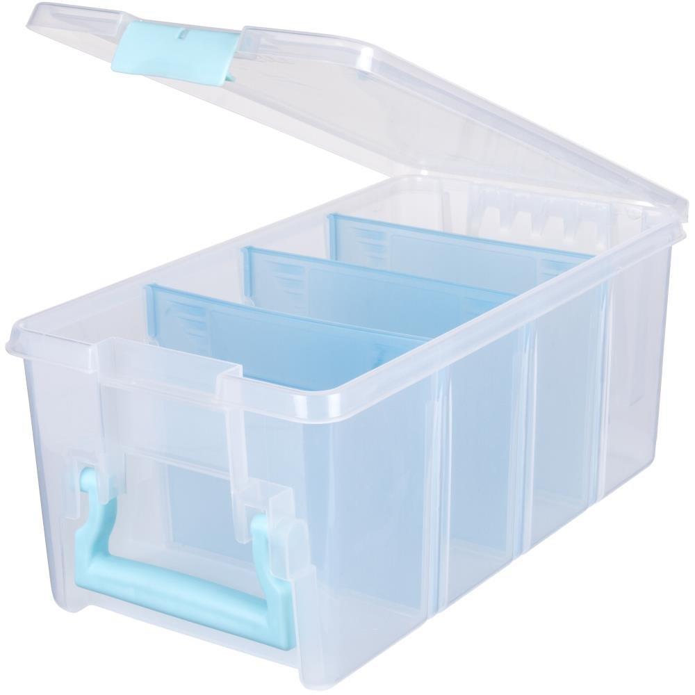 ArtBin Super Semi Satchel Aqua Handle, Latch & Dividers