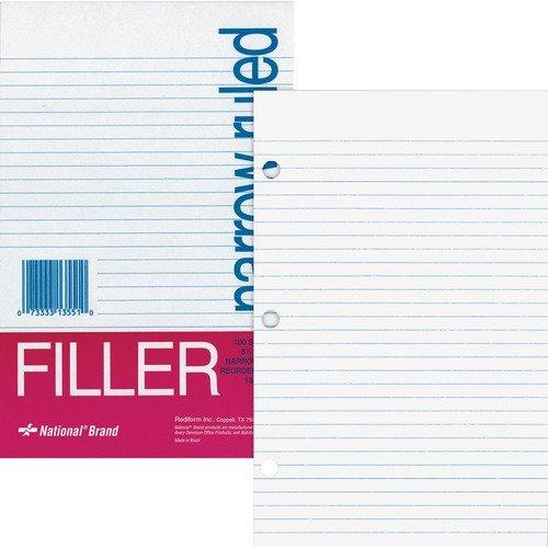 PAPER, FILLER, NARROW 8.5X5.5