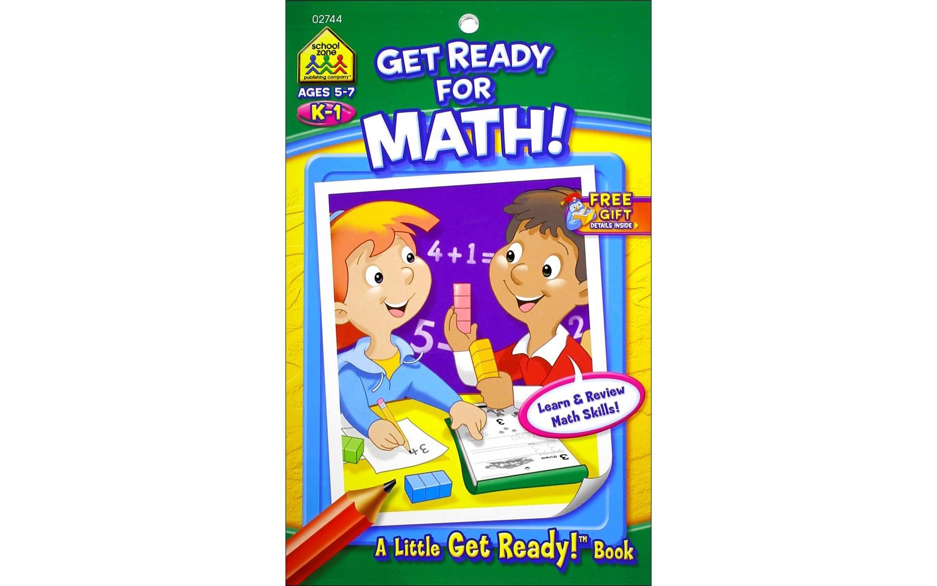 School Zone Get Ready for Math