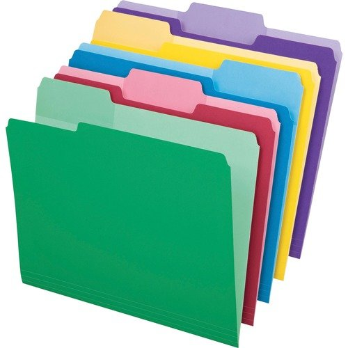 FOLDER, FILE, ERASABLE TABS, LTR