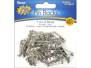 Darice JD Pin Back 1 Nickel 48pc