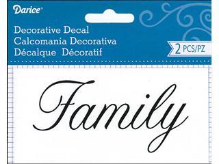 DARICE FAMILY DECAL
