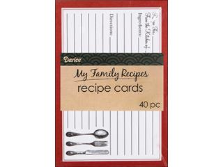 Darice RECIPE CARDS
