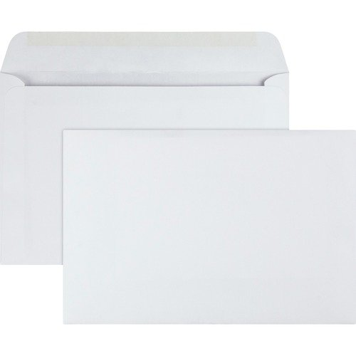 Quality Park Open Side Booklet Envelopes - White 100pc