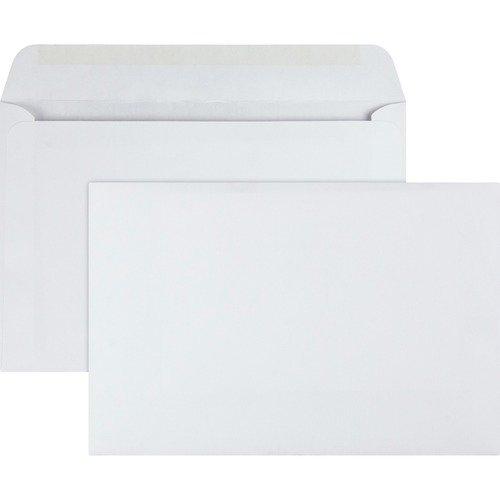 BOOKLET ENVELOPES, 6X9 WHITE, 100