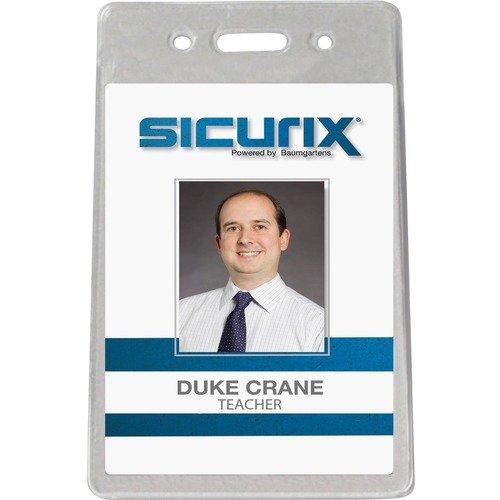 SICURIX Proximity Badge Holder - Vertical 50pc